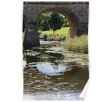 flying through the arches Poster