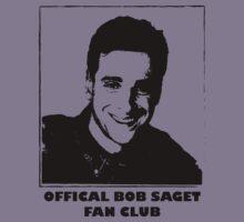 Official Bob Saget Fan Club Shirt Kids Clothes