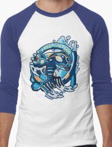Free The Sea Men's Baseball ¾ T-Shirt