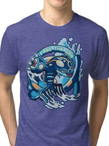 Free The Sea Tri-blend T-Shirt