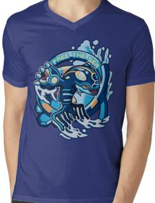 Free The Sea Mens V-Neck T-Shirt