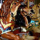 Carousel horses by AHigginsPhoto
