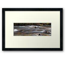 Autumm Flow  Framed Print
