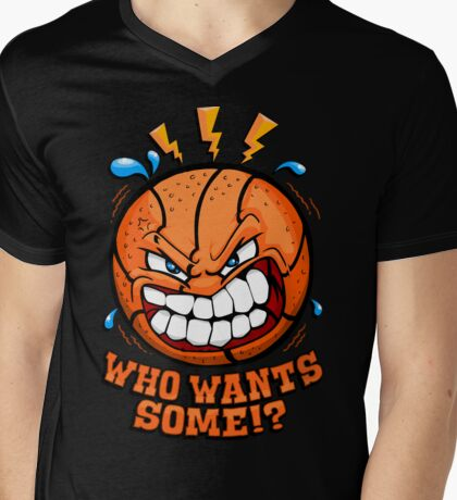 Who Want's Some Mens V-Neck T-Shirt