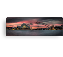 Sydney's Icons Canvas Print
