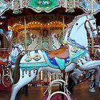 Carousel horse  by AHigginsPhoto