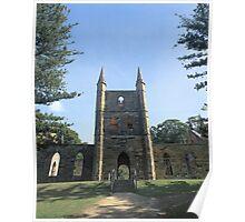 """Towering Above"" ∞ Port Arthur, Tasmania - Australia Poster"