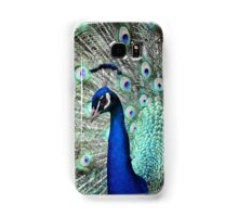 Mr Peacock & his feathers Samsung Galaxy Case/Skin