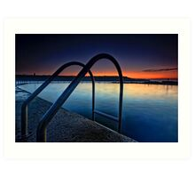 Malabar Rock Pool Art Print