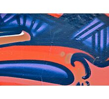 Graffiti detail Photographic Print