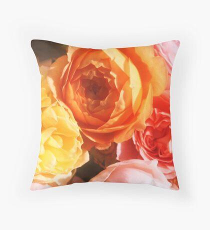 MIA FLORA 2 Throw Pillow