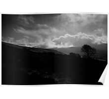 Nire Valley mists, Comeragh Mountains, County Waterford, Ireland Poster