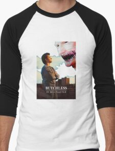 Butchless In Moonattle Men's Baseball ¾ T-Shirt
