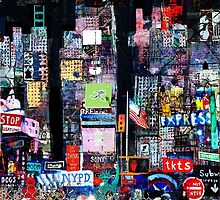 Times Square Night by Andy Mercer