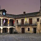 Plaza de Pedraza (colour) by Alfonso Fernandez