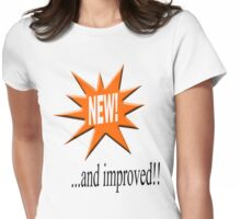 New... and improved Womens Fitted T-Shirt