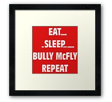biff routine Framed Print