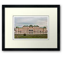 Upper Belvedere Framed Print