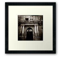 { elegant entry } Framed Print