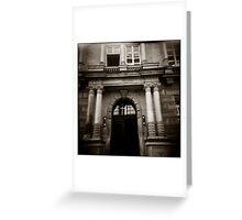 { elegant entry } Greeting Card
