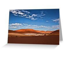 Dune Scape Greeting Card