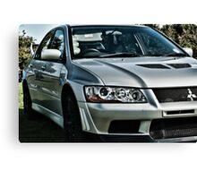 Mitsubishi Lancer Evolution Canvas Print