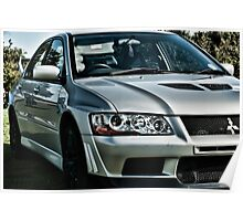 Mitsubishi Lancer Evolution Poster