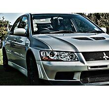 Mitsubishi Lancer Evolution Photographic Print
