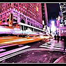 Movement at Time Square Pt2 by JLaverty