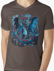 Charizardite X Mens V-Neck T-Shirt