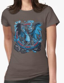 Charizardite X Womens Fitted T-Shirt