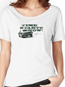 Time starts now! Women's Relaxed Fit T-Shirt
