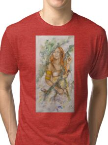 Tryptich The three Norns - Skuld Tri-blend T-Shirt