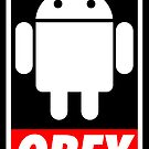 Obey the Android A by Yiannis  Telemachou