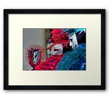 Venice - Carnival Mask 2012....01 - In the Mirror Framed Print