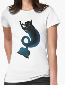 CAT FISH Womens Fitted T-Shirt
