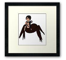 Spider Morrigan  Framed Print