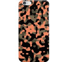 Peachy Camouflage Pattern iPhone Case/Skin