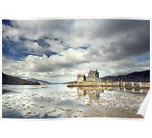 Eilean Donan Castle Reflection Poster