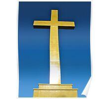 Mount Macedon Cross Poster