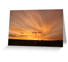 ripple sky Greeting Card