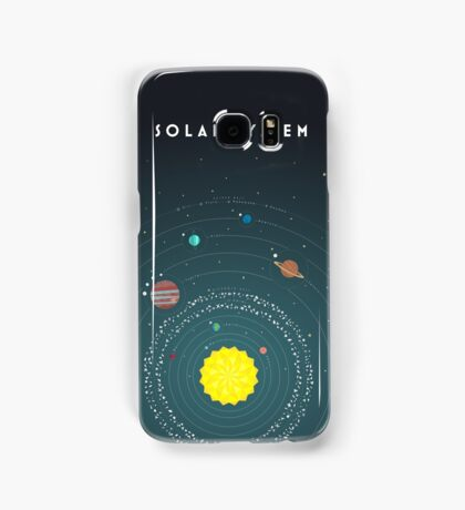 Solar System Samsung Galaxy Case/Skin