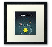 Solar System Framed Print