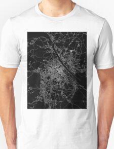 Vienna map Austria Unisex T-Shirt