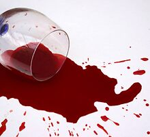 Spilled Wine by Linda Miller Gesualdo