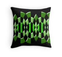 Beautiful Cushions/ Check Green Thing Throw Pillow