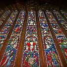 The East Window (Carlisle Cathedral) by Lou Wilson