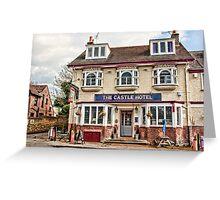 Castle Hotel, Eynsford Greeting Card