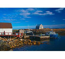 Blue Rocks, Nova Scotia, Canada Photographic Print