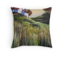 Autumn Whispers Throw Pillow